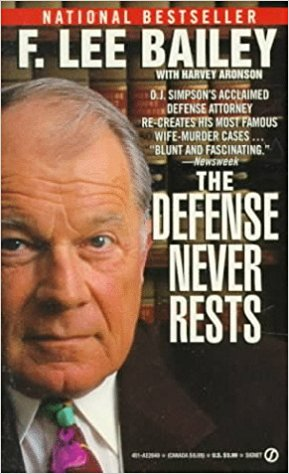Book cover for: The Defense Never Rests